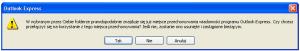 Zmiana folderu plików Outlook Express gdy istnieją już pliki tego programu w nowej lokalizacji