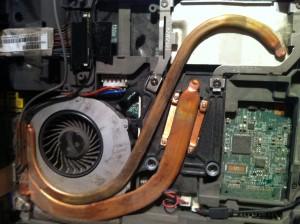 Układ chłodzenia IBM Lenovo R61i - Fan Error - uszkodzony wentylator