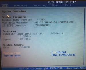 AHCI port 0 Device Error - Wejście do BIOSu