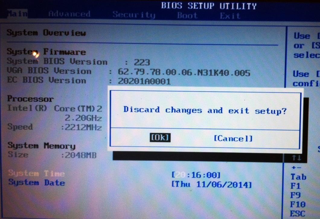 How to eradicate ahci port 0 device error press f1 to ...