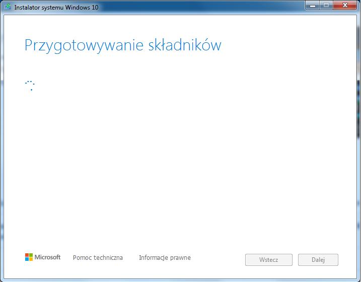 Instalacja Windows 10 - Media Creation Tools - przygotowanie USB
