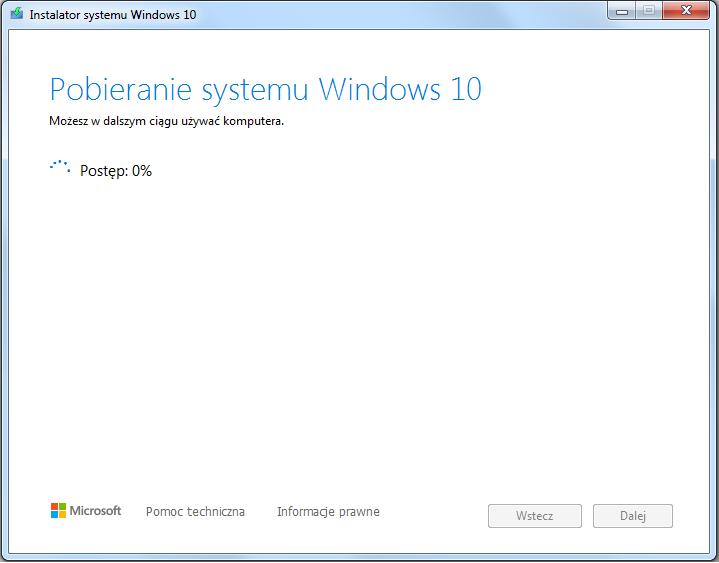 Instalacja Windows 10 przygotowanie pendrive Windows 10